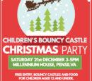 Children's Bouncy Castle Xmas Party