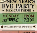 New Year's Eve Party (Mexican Theme)